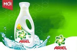 Nước Giặt Ariel Matic Dịu Nhẹ Hương Sả