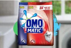 Bột Giặt OMO Matic Dành Cho Máy Giặt